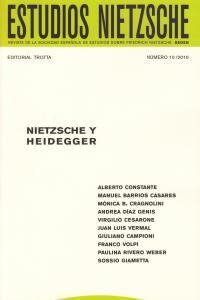 ESTUDIOS NIETZSCHE Nº 10: portada