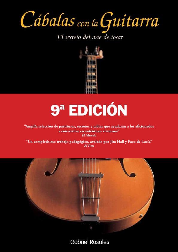CÁBALAS CON LA GUITARRA.  8ª edición: portada