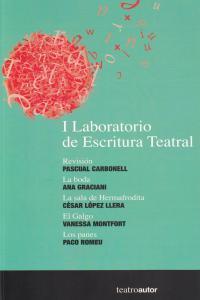 I LABORATORIO DE ESCRITURA TEATRAL: portada
