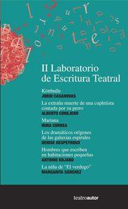 II Laboratorio de Escritura Teatral: portada