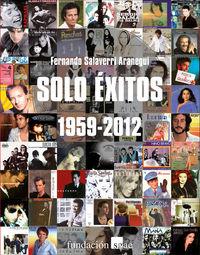 SOLO ÉXITOS (1959-2012): portada