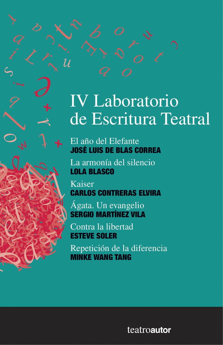 IV LABORATORIO DE ESCRITURA TEATRAL: portada