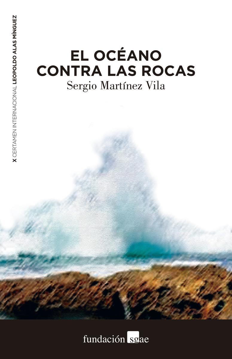 El océano contra las rocas: portada