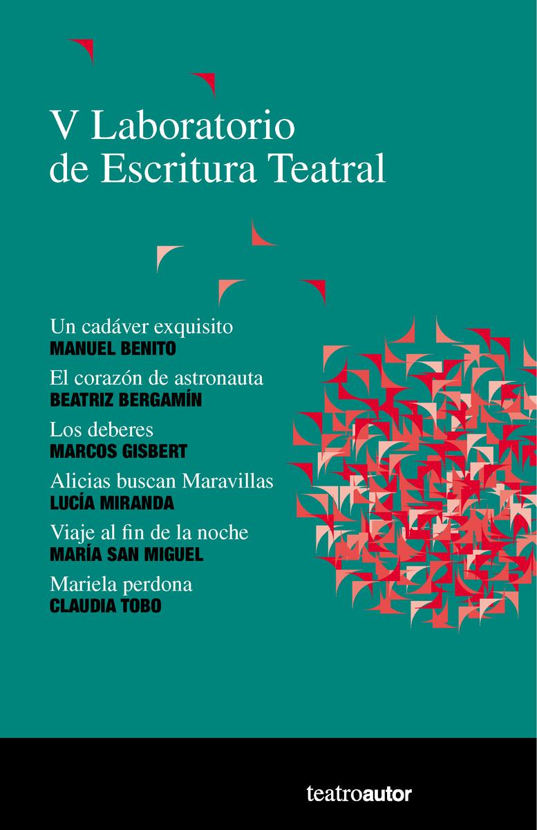 V LABORATORIO DE ESCRITURA TEATRAL: portada