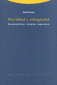 PLURALIDAD Y AMBIGüEDAD: portada