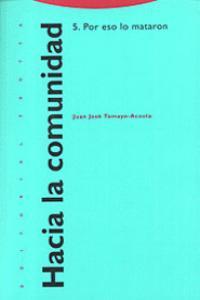 HACIA LA COMUNIDAD 5: portada
