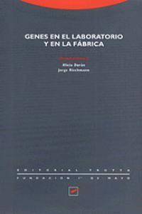 GENES EN EL LABORATORIO Y EN LA FáBRICA: portada