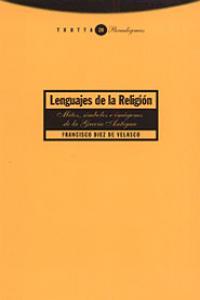 LENGUAJES DE LA RELIGIóN: portada