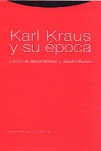KARL KRAUS Y SU éPOCA: portada
