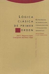 LóGICA CLáSICA DE PRIMER ORDEN.: portada