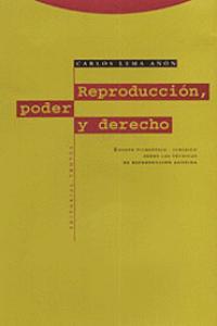 REPRODUCCIóN, PODER Y DERECHO: portada