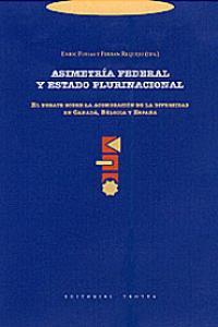ASIMETRíA FEDERAL Y ESTADO PLURINACIONAL: portada