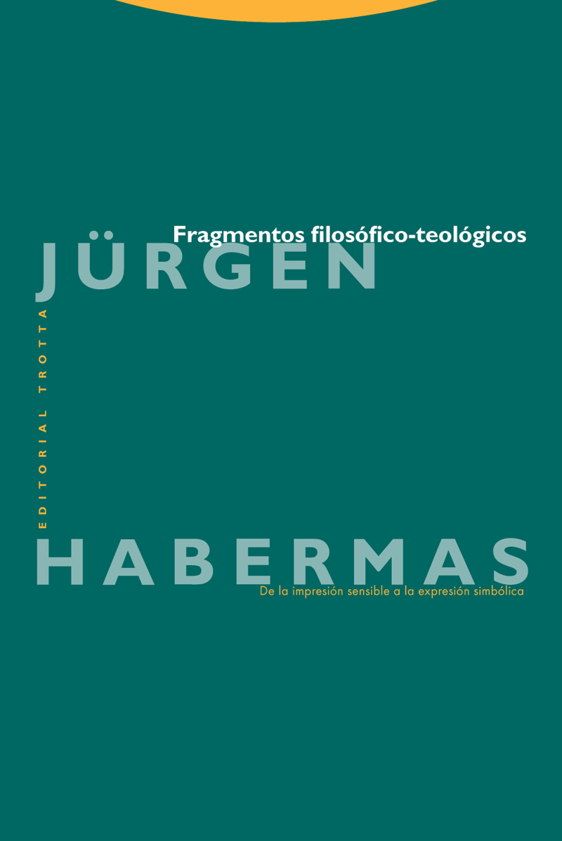 FRAGMENTOS FILOSóFICO-TEOLóGICOS: portada