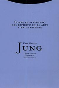 SOBRE EL FENóMENO DEL ESPíRITU EN EL ARTE Y LA CIENCIA: portada