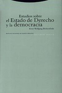 ESTUDIOS SOBRE EL ESTADO DE DERECHO Y LA DEMOCRACIA: portada