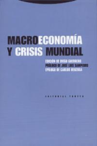 MACROECONOMíA Y CRISIS MUNDIAL: portada