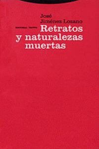 RETRATOS Y NATURALEZAS MUERTAS: portada