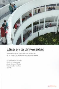 ETICA EN LA UNIVERSIDAD: portada