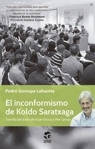 EL INCONFORMISMO DE KOLDO SARATXAGA: portada