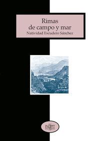 RIMAS DE CAMPO Y MAR: portada