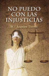 NO PUEDO CON LAS INJUSTICIAS: portada