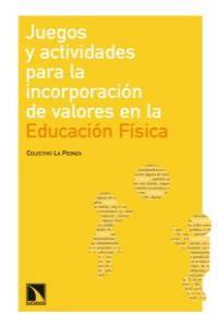 JUEGOS Y ACT. PARA LA INCORPORACION DE VALORES EN E.F: portada