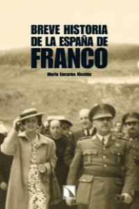 BREVE HISTORIA DE LA ESPAÑA DE FRANCO: portada