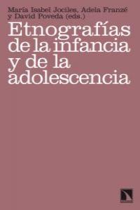 ETNOGRAFIAS DE LA INFANCIA Y DE LA ADOLESCENCIA: portada