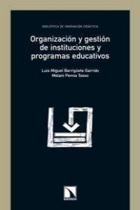 ORG.Y GESTION DE INSTITUCIONES Y PROGRAMAS EDUCATIVOS: portada