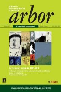 ARBOR 187 SEP 2011 LA HISTORIETA ESPAÑOLA 1857-2010: portada
