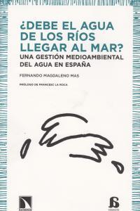 DEBE EL AGUA DE LOS RIOS LLEGAR AL MAR: portada
