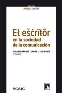 El escritor en la sociedad de la comunicación: portada