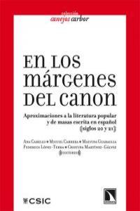 EN LOS MARGENES DEL CANON: portada
