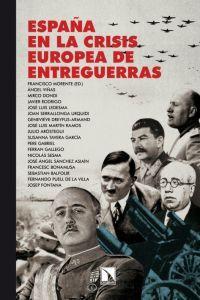 España en la crisis europea de entreguerras: portada