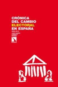 Crónica del cambio electoral en España: portada