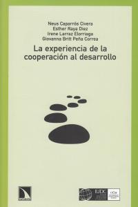 La experiencia de la cooperación para el desarrollo: portada