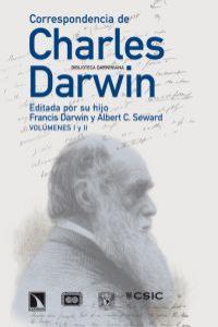 Correspondencia de Charles Darwin 2 volumenes: portada