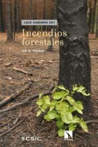 Incendios forestales: portada