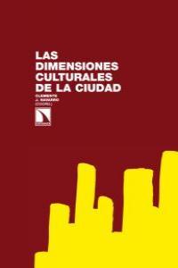 Las dimensiones culturales de la ciudad: portada