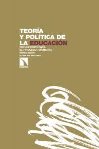 Teoría y política de la educación: portada