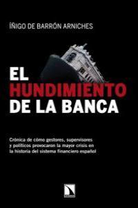 EL HUNDIMIENTO DE LA BANCA: portada