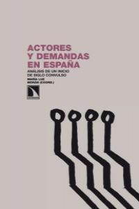 ACTORES Y DEMANDAS EN ESPAÑA: portada