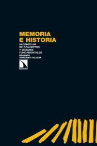 MEMORIA E HISTORIA: portada