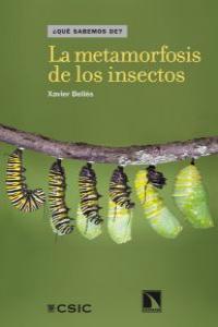La metamorfosis de los insectos: portada