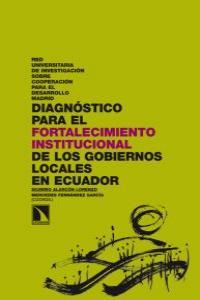 Diagnóstico para el fortalecimiento institucional de los gob: portada