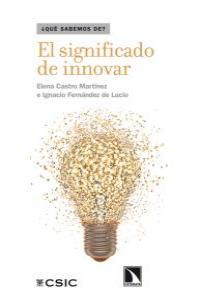 El significado de innovar: portada