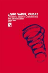 ¿Quo vadis, Cuba?: portada