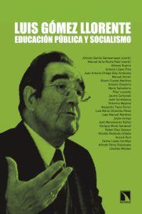 Luis Gómez Llorente: educación pública y socialismo: portada