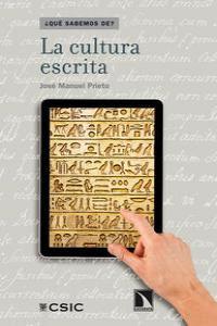 La cultura escrita: portada