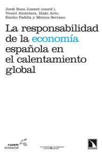 La responsabilidad de la economía española en el calentamien: portada